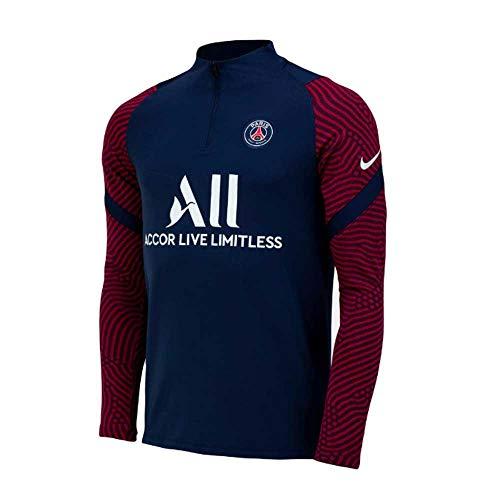 Nike 2020-2021 PSG Drill Top (Marineblau)