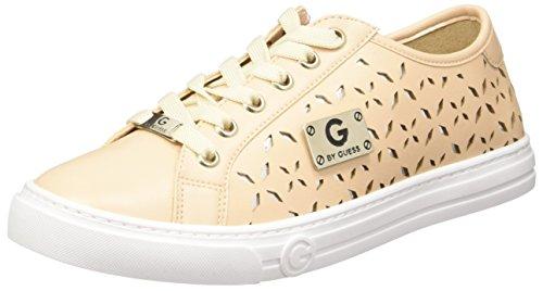 G By Guess GGRIPPLE Tenis Beige de Material sintético para Dama Talla 05.0