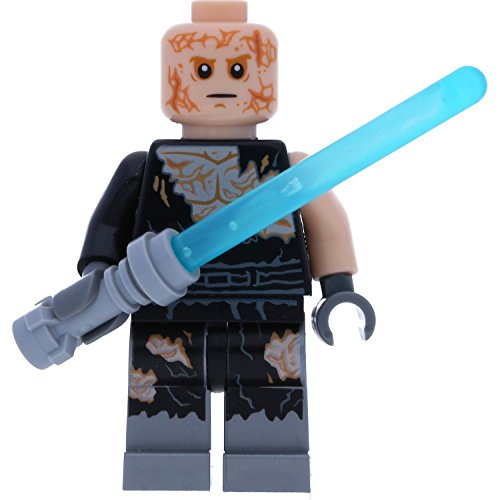 LEGO Star Wars Minifigur: Anakin Skywalker (Transformation Process) mit Laserschwert