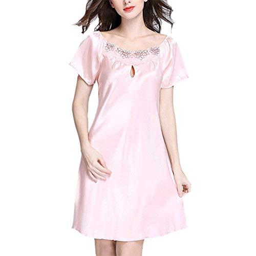 Nachthemd dames zomer warme rok holle sche korte pyjama's negligge jongen chic nachtkleding lingerie (twee soorten)
