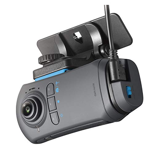 カーメイト ドライブレコーダー アクションカメラ 360度カメラ ダクション 360S 前後 左右 撮影 超広角 全...