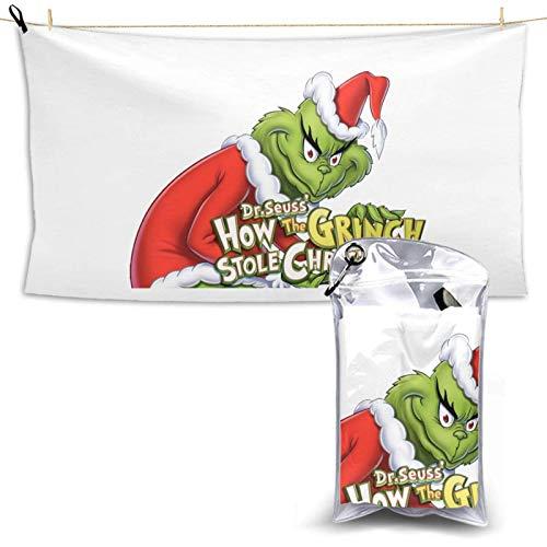 Dr. Seuss' The Qui Dry Toalla, toalla de microfibra súper absorbente ligera para nadadores, toallas de baño para niños y adultos, piscina, deportes acuáticos Qui Dry Towel28.7 pulgadas x 51 pulgadas