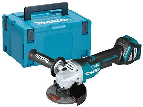 Makita DGA517ZJ haakse slijper Brushless 125 mm 18 V + koffer Makpac.