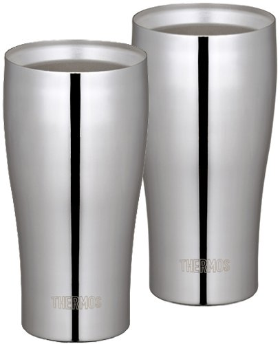 THERMOS vacuum insulation tumbler set 400ml stainless mirror JCY-400GP1 SM (japan import)