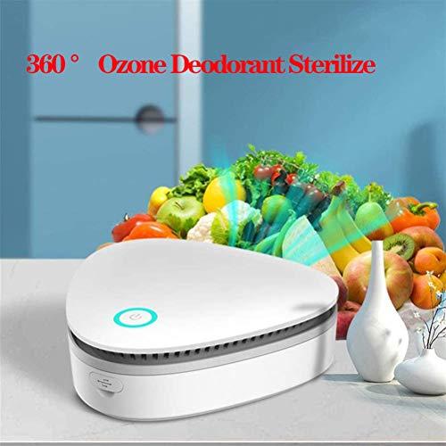 360 ° Ozone Deodorant Sterilize Pure Geur Eliminator Smoke Dust Pet Geur Eliminator Modern Slank Purificador Gebruik in De Badkamer, Slaapkamer Keuken, Kajuit, Basement