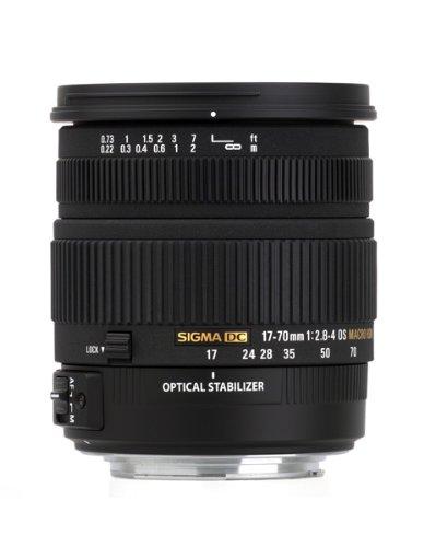 Sigma 17-70 2,8-4,0 DC MACRO OS HSM Obiettivo per Nikon