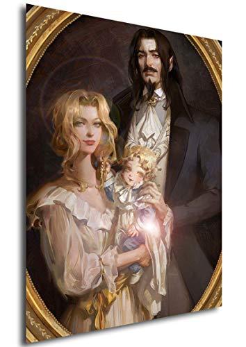 Instabuy Poster Castlevania Art - Alucard Family (Plakat 70x50)