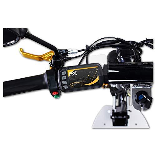 atFoliX Protecteur d'écran Compatible avec eFlux Freeride X2 Film Protection d'écran, antiréfléchissant et Absorbant Les Chocs FX Film Protecteur (2X)
