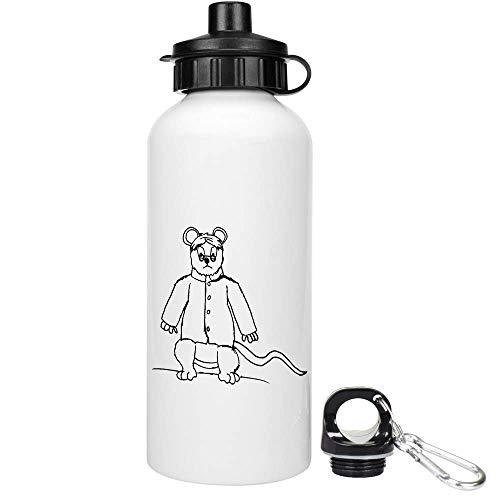 Azeeda 600ml 'Böse Ratte' Trinkflasche / Wasser-Flasche (WT00008251)