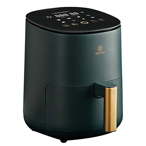 NIAS Die Turmfritteuse mit schnellem Luftzirkulationssystem und Einstellbarer Temperaturregelung kann zum ölfreien oder fettarmen, gesunden Kochen verwendet Werden