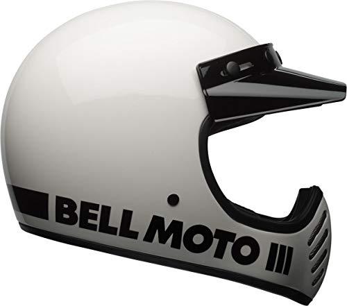 casco moto 3 BELL MOTO-3 CLASSIC HELMET WHITE M