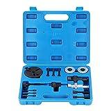 Kit de embrague de aire acondicionado, 15Pcs / Set Coche automotriz A/C Aire acondicionado Extractor Compresor Extractor de embrague Herramienta de parte del instalador