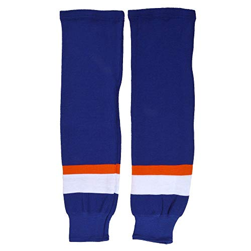 Sherwood Kinder SCHANNER Eishockey Stutzen New York Hockeystutzen, Marine/Weiß/Orange, Junior