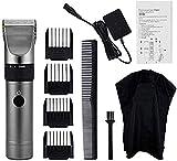 Pelo tijeras de corte de la herramienta de corte profesional Hair Clippers sin cuerda del corte de pelo de cabello pelo Trimmer adulto Máquina Styling Peluquería de bajo ruido barba Trimmer cerámica R