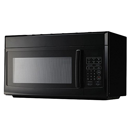 Daewoo Magic Chef 1.6 cu. ft. Over the Range Microwave in Black-MCO165UB