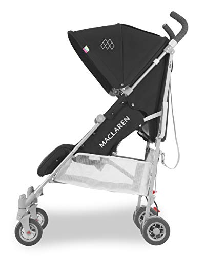 Maclaren Quest Stroller- Full-featured, lightweight and compact. Newborn Safety System and compatible with Maclaren Carrycot, extendable UPF50+/waterproof hood, accessories in the box
