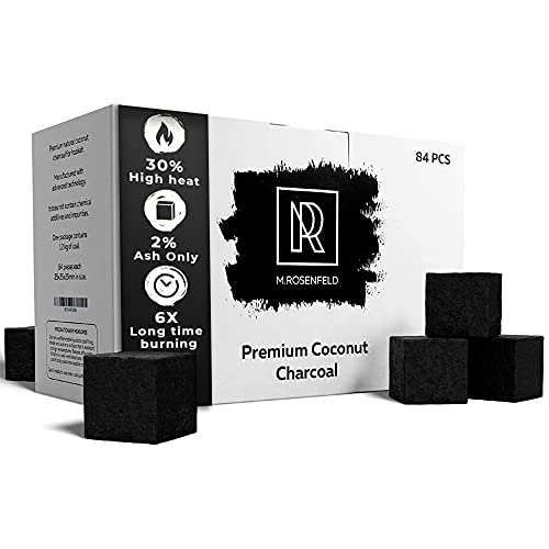 1kg   Premium XL Coco Carbón natural para cachimba & BBQ [26mm Shisha carbón]   100% certificado mejor calidad-precio   M. Rosas quemador