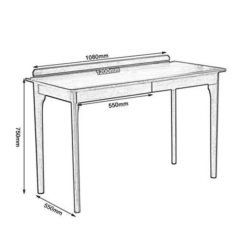 NBVCX Möbel Dekoration Esstisch Holz Schreibtisch mit Schublade Schreibbüro Computer Schreibtisch passt Sich jedem Raum Horn Stuhl japanischen Stuhl an