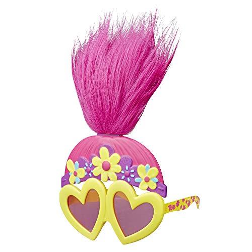 Hasbro DreamWorks Trolls Poppys Rockige Troll-Brille, lustige Spielzeug-Sonnenbrille, inspiriert vom Film Trolls World Tour, für Mädchen ab 4 Jahren