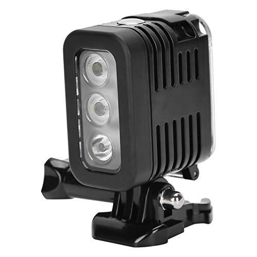 Oumij1 Luz de Relleno de Video Led - Luz de Relleno de Buceo Impermeable 30M - Luz de Relleno de Fotografía Subacuática - para Cámara de Movimiento GoPro Hero 4