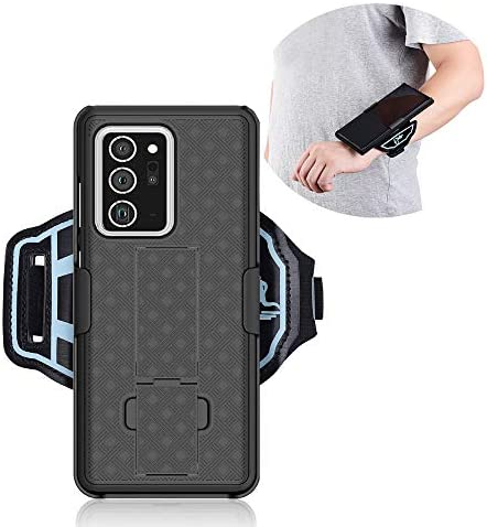 chuangxinfull Sports Armband Wristband Case for Samsung Galaxy Note 20 Ultra 5G Hybrid Hard product image