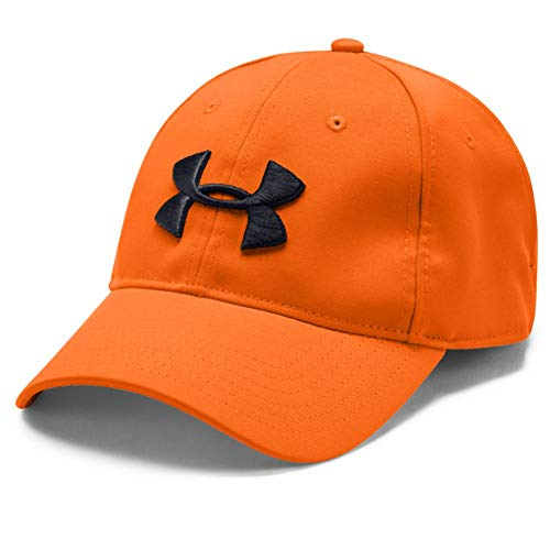 Under Armour Men's Camo 2.0 Hat , Blaze Orange (825)/Black , One Size Fits All