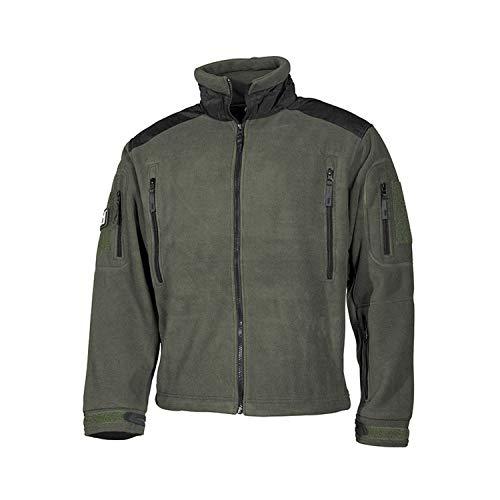 Copytec Atmungsaktive wasserdichte Task Force Fleece Jacke wärmend Winddicht #16007, Farbe:Oliv, Größe:3XL