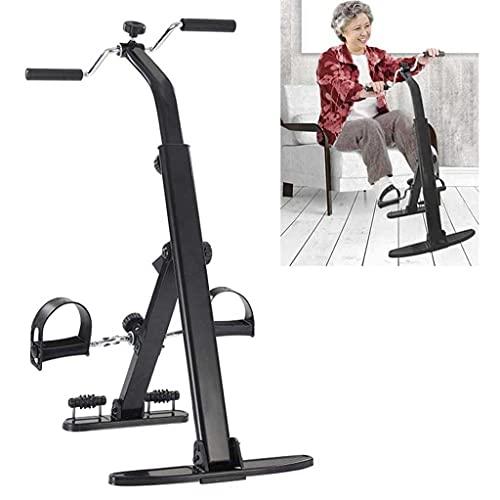 NAOKEY Pedal Portátil Ejercicio Bici Bike Brazo Y Ejercitador de Piernas, Terapia Física Ejercicios de Piernas para Personas Mayores Y Ancianos