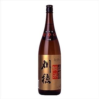 【日本酒】刈穂 山廃純米 超辛口 1800ml