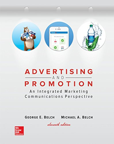 Compare Textbook Prices for Advertising and Promotion: An Integrated Marketing Communications Perspective Irwin Marketing 11 Edition ISBN 9781259548147 by Belch, George,Belch, Michael