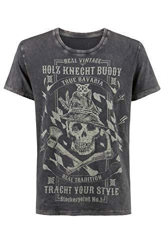 Stockerpoint Herren Buddy T-Shirt, anthrazit, XL