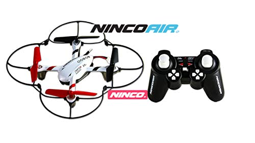 NincoAir-Nano 2 Quadrone Nano2 CAM (NH90097), Color Negro