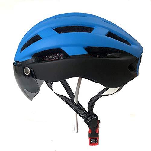 Helm ZWRY Mtb Road Mountainbike Helm Fiets Fietshelm Met Led
