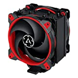 ARCTIC Freezer 34 eSports DUO - Tower CPU Cooler with BioniX P-Series Case Fan in Push-Pull, 120 mm PWM Fan, for Intel and AMD Socket - Red