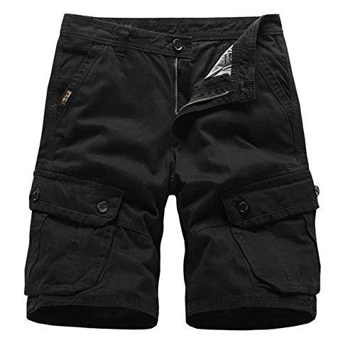 Short Hommes Marine Hommes Cargo Shorts Marque Nouvelle Armée Militaire Tactique Shorts Hommes Coton Lâche Travail Casual Pantalon Court