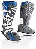 Acerbis X-Race - Botas de motocross azul/gris 42