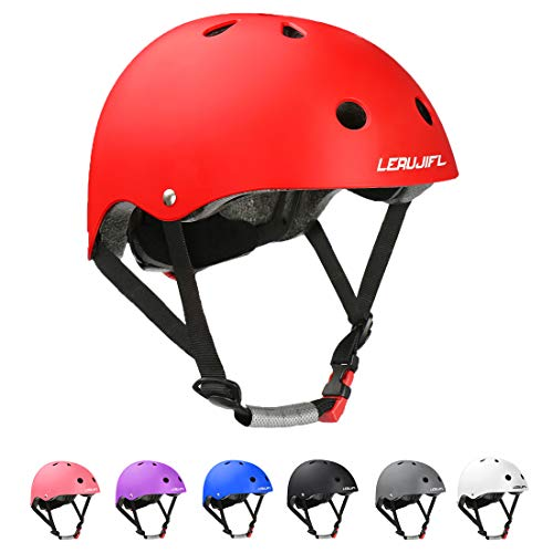 LERUJIFL Kids Bike Helmet Toddler Helmet Children for Age 2-8 Boys/Girls, Multi-Sport Helmet Adjustable Helmet Skateboard Cycling Scooter Helmet