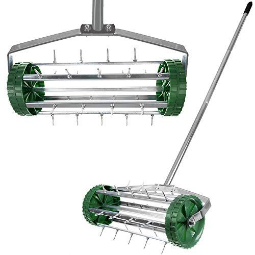 ISO TRADE Hand-Vertikutierer Vertikutier-Roller 12027