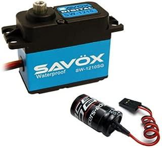 Savox SW-1210SG Waterproof Coreless Steel Gear Digital Servo + Glitch Buster
