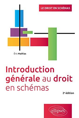 Introduction générale au droit - 2e édition (Le droit en schémas)