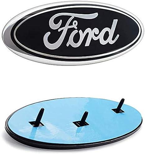11-14 Edge Oval 9X3.5 Badge Nameplate for 04-14 F150 F250 F350 silver 11-16 Explorer 06-11 Ranger Fd Front Tailgate Emblem