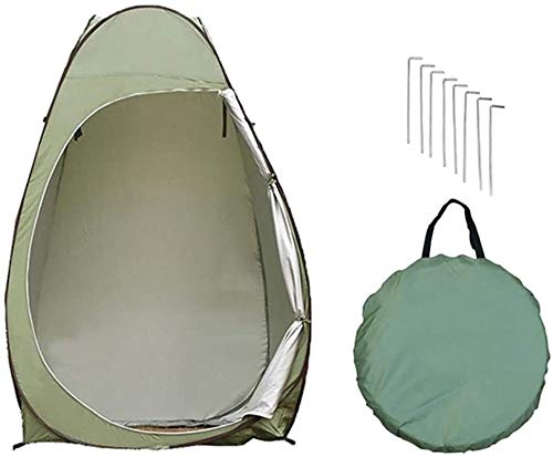 Privacy Tent for Portable Toilet Privacy Tent Pop Up Shower Changing Toilet Tent Instant Portable Outdoor Shower Tent, Camp Toilet Rain Shelter for Camping & Beach Lightweight & Sturdy Easy Set Up