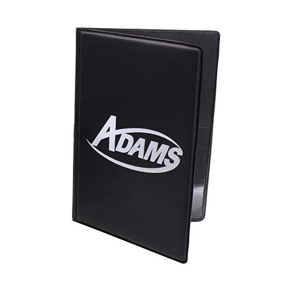 ADAMS USA Adams Game Card Holder Book Style BK Black