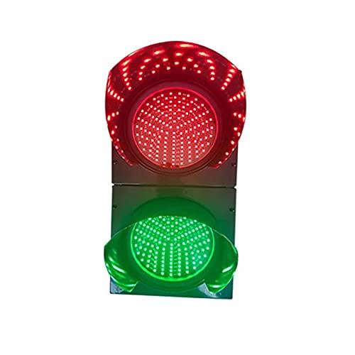QDF LED Warning Light, Industrial LED Traffic Light, 2 Light Red Green, Industrial Wall Lamp, Traffic Stop Light, Dock Bay Indicator Warning Light