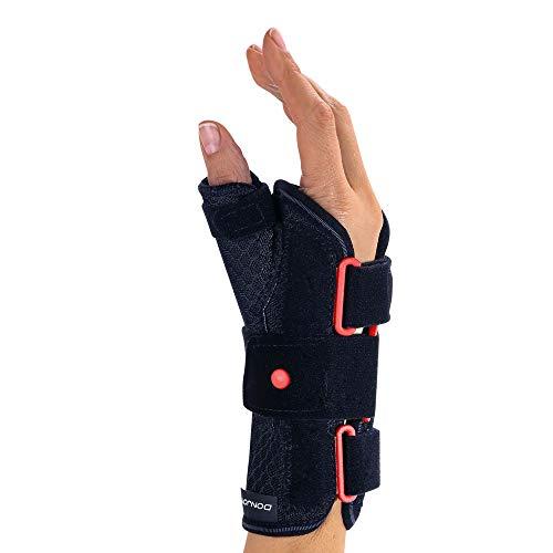 DONJOY® ManuForm+™ Handgelenkorthese mit Daumeneinschluss L schwarz rechts