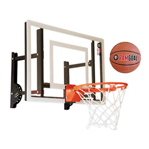 RAMgoal Durable Adjustable Indoor Mini Basketball Hoop and...