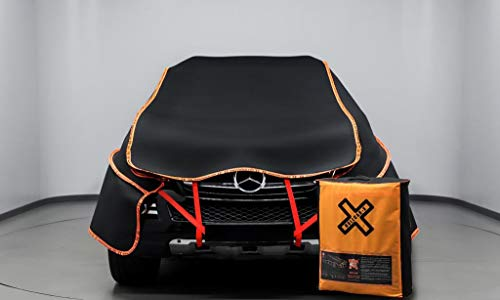 Hail Protector Car Cover for SUVs - 6mm Strong Guarding for External Factors Hail, Storm, Stone, Snow / 600x375cm Dims