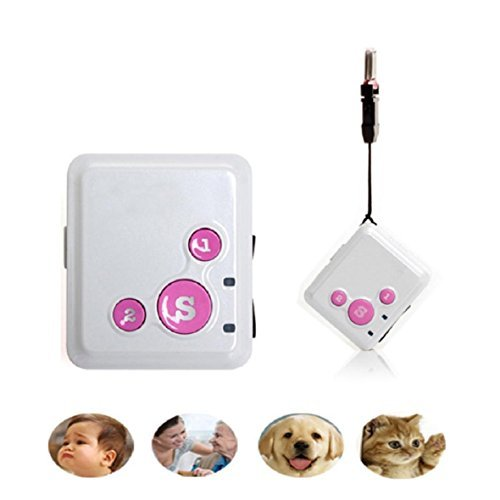 Lookatool RF-V16 The Smallest Smart GPS Tracker Long Standby Time SOS Dual Talk Platform