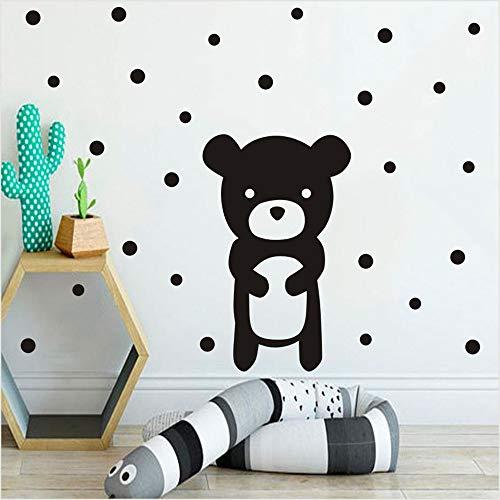 Stickers Muraux Beaux Animaux Ours Pour Chambre D'Enfant Décor De Chambre D'Enfant Cartoon Cartoon Baby Kids Home Decor