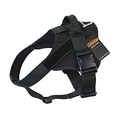 EXCELLENT ELITE SPANKER Tactical Dog Harness Military Training Patrol K9 Service Dog Vest Adjustable Working Dog Vest with Handle